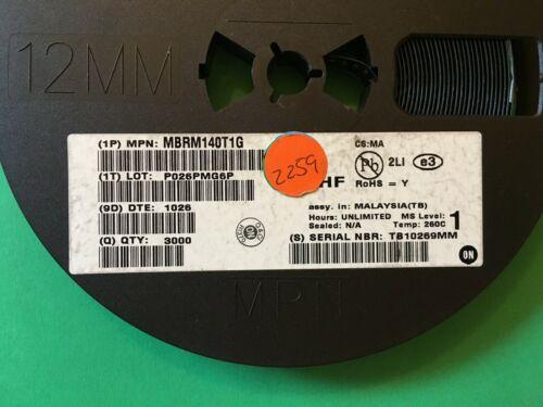 MBRM140T1G  1 lot  2,259 pcs  (0.015 each)