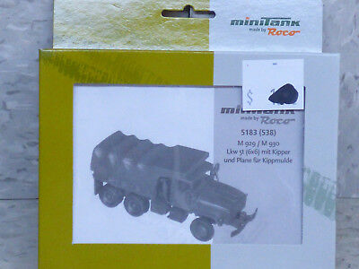 Roco Minitanks (NEW) 1/87 Modern US M-929 / M-930 5T 6x6 Dump Truck Lot #2025K for sale  Chicago