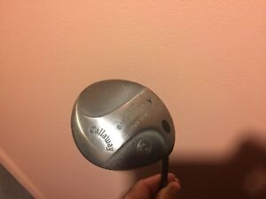 Golf Club Driver Callaway Great Big Bertha Hawk Eye 7 degree