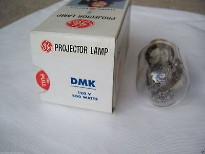 DMK PROJECTION LAMP BULB MOVIE SLIDE FILM STRIP PROJECTOR 120 V VOLT 500 WATT