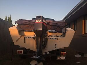 60 hp Yamaha and trailer for sale Parkhurst Rockhampton City Preview