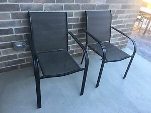 MOVING- Two Outdoor Chairs
