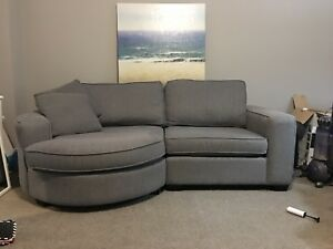 Urban Barn Braxton sectional couch
