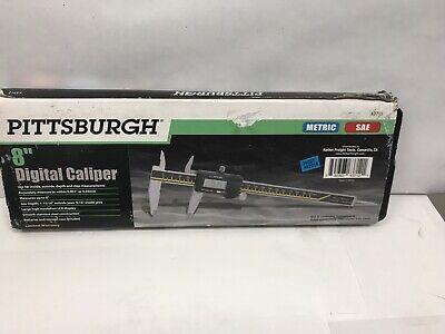 Pittsburgh 8 Digital Caliper Metric Sae