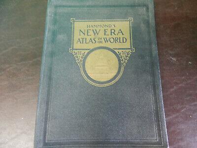 Hammond's World Atlas 1945 plus 1953 world almanac & 1977 almanic