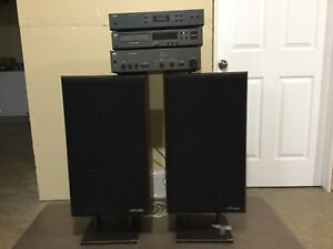Stereo system, audio file, NAD & Polk Audio