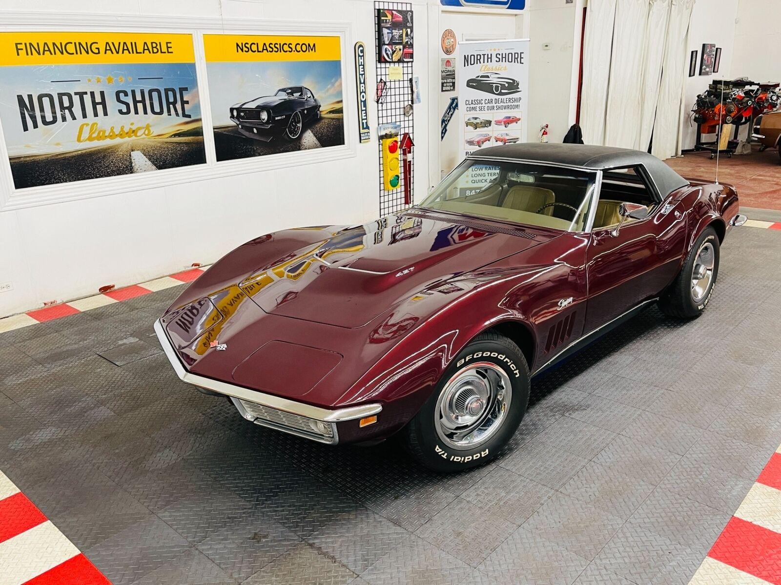1968 Burgundy Chevrolet Corvette   | C3 Corvette Photo 1