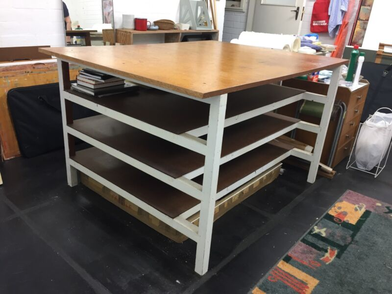 Art Studio Work Table In Good Condition | Other Home U0026 Garden | Gumtree  Australia Lane Cove Area   Longueville | 1171543851