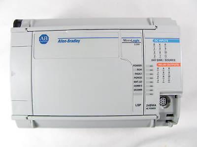 Allen Bradley Micrologix 1500 1764-24bwa 1764-lsp Good Shape