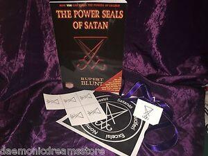 THE POWER SEALS OF SATAN Rupert Blunt Finbarr Occult Magic Black Grimoire Magick