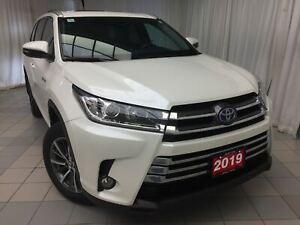 2019 Toyota Highlander Hybrid XLE : navigation