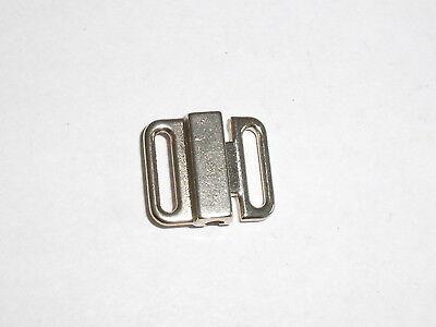 Schließe Bikiniverschluss Verschluss Schnalle 1,0 cm inkagold NEU rostfrei 0406