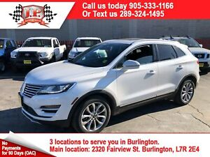 2015 Lincoln MKC Auto, Navigation, Leather, Panoramic Sunroof, A