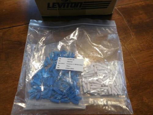 LC Fiber Optic connectors SM UPC Bag of 500