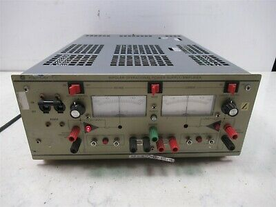 Kepco Bipolar Operational Power Supply Amplifier Bop 20-5m 0 To - 5a