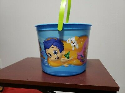 Bubble Guppies Birthday Party (Bubble Guppies Birthday Party Easter pail sandbox Favor Bucket Small nick jr)