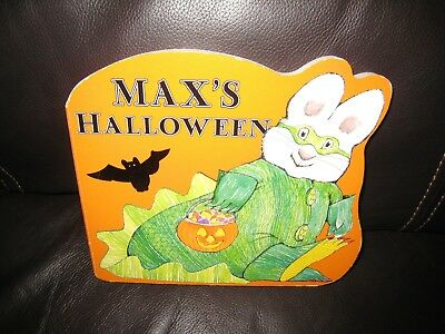 Max and Ruby: Max's Halloween by Rosemary Wells (2004, Board Book) - Ruby And Max Halloween