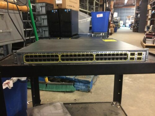 Cisco Catalyst 3750 Poe Ws-c3750-48ps-s 48-port Ethernet Switch