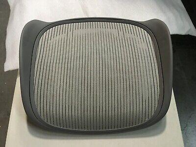 Herman Miller Aeron Chair Seat Pan 3v01 Titanium Medium Size B Classic Zinc Oem