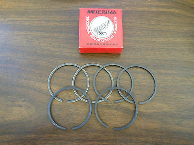 NOS Honda .75 Piston Ring Set Rings CA77 305 Dream 13040-266-000 Ships From USA
