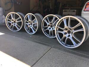 4 genuine Porsche Cayenne rims