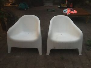 Outdoor lounge chairs - ikea Bellevue Hill Eastern Suburbs Preview