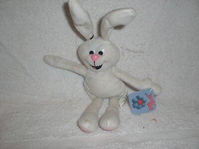 General Mills Trix Cereal Rabbit Breakfast Babies Pals plush bean bag bunny 1997, used for sale  Bridgewater