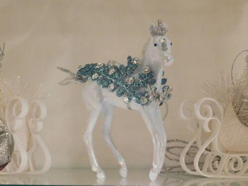 Breyer Custom Christmas Holiday Horse Ornament by Tanna Rose Studios (TRJ)