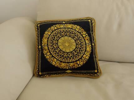 "GIANNI  VERSACE  - ""Medusa"" 100% Cotton Velour Cushion"