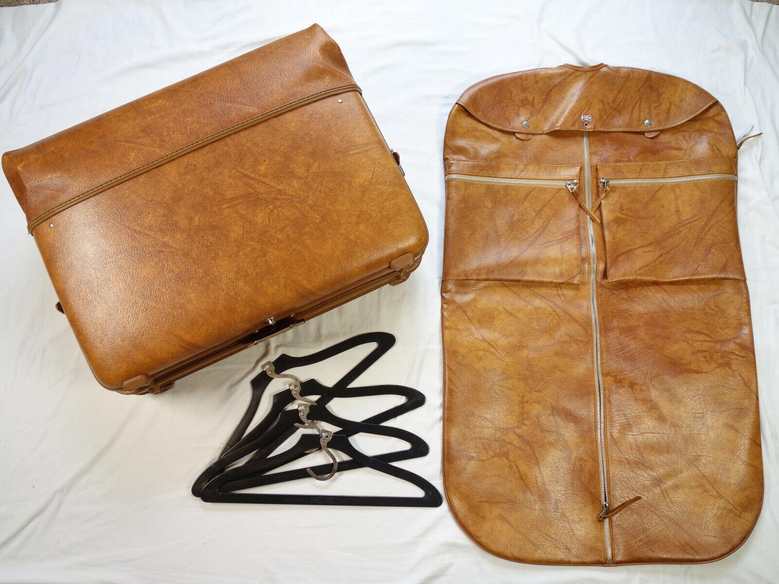 Vintage Retro American Tourister Escort Large Garment Carrier Bag Luggage Set  - $69.99