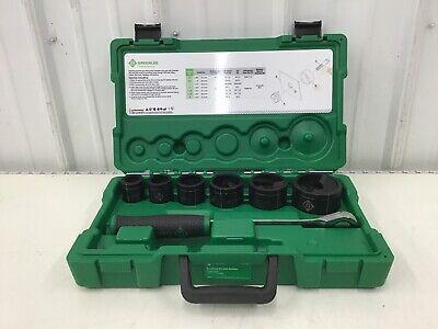 Greenlee - 7238sb Manual Punch Driver Set 15 10 Ga. Steel