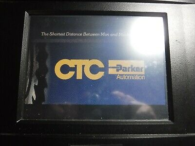 Parker Ctc Automation Ps10-2h2-dd3-ad3 Power Station Hmi Interface Color Lcd