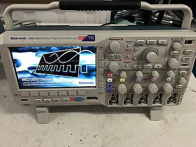 Tektronix Mso2014 Mixed Signal Oscilloscope Mso 100mhz 1gss