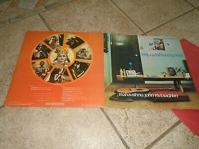MAHAVISHNU JOHN McLAUGHLIN  / MY GOALS BEYOND / RECORD LP / DGL 69014