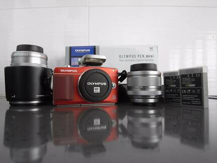 Olympus E-PM2 with 14-42 and 40-150 lenses and extras Darwin CBD Darwin City Preview