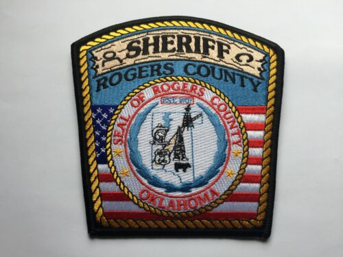 Rogers County OKLAHOMA Sheriff Patch