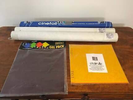 Film foil and gel filters - new