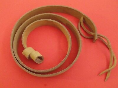 Martini Henry Natural Tan Buff Leather Sling