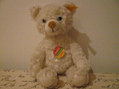 White Steiff Bear- knopf im ohr