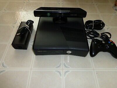 Microsoft Xbox 360 with Kinect 4GB Black Console