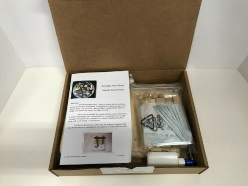Keysight Technologies After School Kit Kalimba Finger Piano Science Project