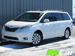 2015 Toyota Sienna XLE 7 Passenger AWD | HEATED LEATHER | NAV...