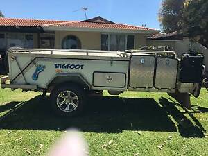 Bigfoot Off Road Hard Floor Camper Trailer $10,000 ono Herne Hill Swan Area Preview