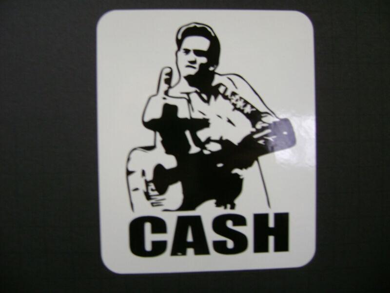 Johnny Cash Sticker Decal, Folsom Prison