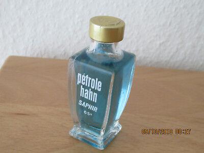 """Sammlerflakon Lotion """"Petrole Hahn Saphir"""" 65 %"""