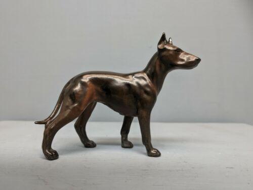 Extremely Rare Matte San Dimas Hagen Renaker DW Manchester Terrier