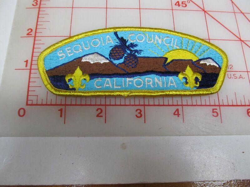 Sequoia Council CSP collectible PB patch (o34)