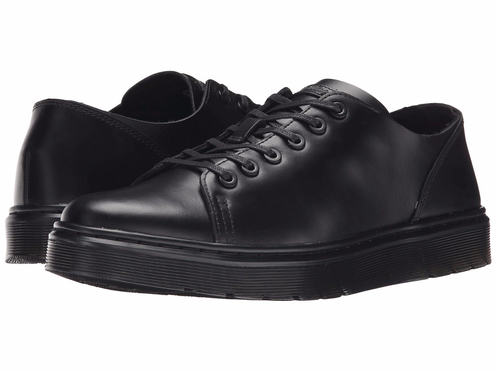 Men\s Shoes Dr Martens Dante 6 Eye Lace Up Leather Oxford 16736001 Black *New*
