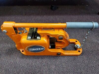 Pell Hydrashear P-1125 Manual Hydraulic Wire Rope Cutter Free Shipping