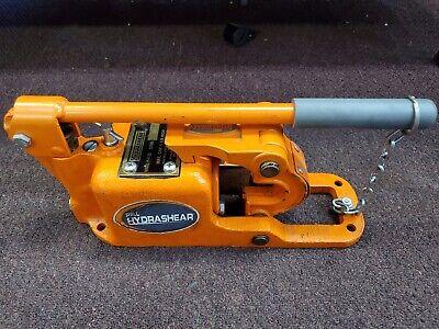 Pell Hydrashear P-1125 Manual Hydraulic Wire Rope Cutter Free Shipping